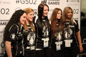 Nya laget efter vinsten i Copenhagen Games