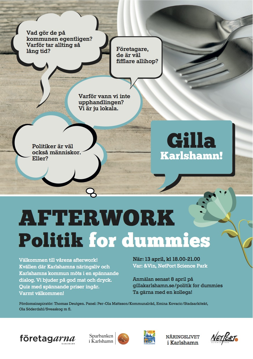 Inbjudan_Politik for dummies