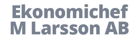Ekonomichef M Larsson AB